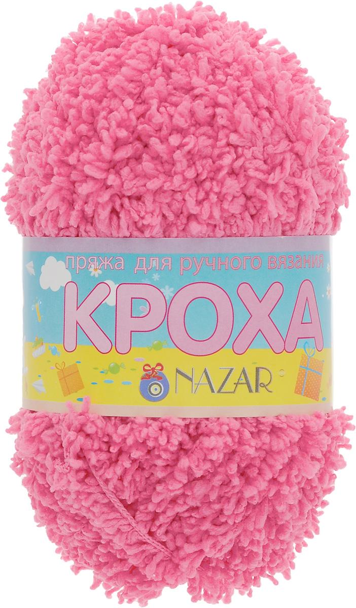Пряжа для вязания детская Nazar Кроха, цвет: ярко-розовый (6016), 75 м, 50 г, 10 шт349017_6016Nazar Кроха - это фантастически мягкая пряжа, изготовленная из 100% микрополиэстера. Такая пряжа идеально подойдет для изготовления игрушек или детской одежды. Изделия практичны в носке и уходе. Рекомендуется вязать спицами платочной или чулочной вязкой (кулинарная гладь). Комплектация: 10 мотков. Состав: 100% микрополиэстер.