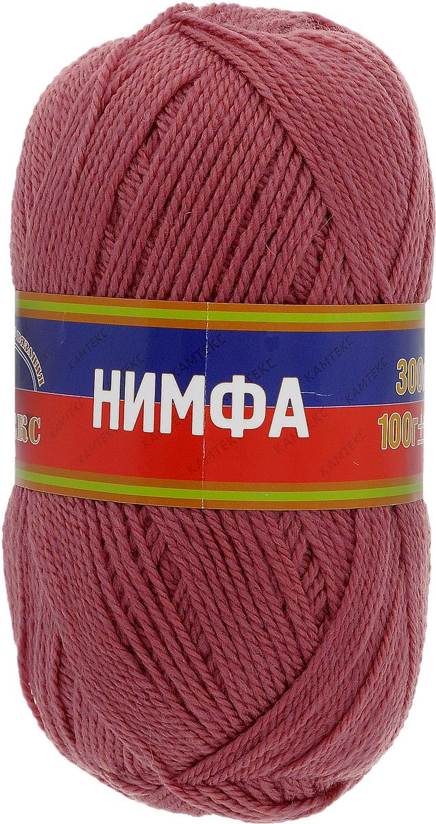 Пряжа для вязания Камтекс Нимфа, цвет: брусничный (088), 300 м, 100 г, 10 шт365031_088Пряжа для вязания Камтекс Нимфа изготовлена из 35% шерсти и 65% акрила. Нимфа - ниточка средней толщины, довольно проста в вязании, легко и свободно скользит по крючку и спицам. За счет преобладания акрила над шерстью имеет приятную мягкость, совсем не колется и не раздражает кожу. Прекрасно подходит для вязания детских головных уборов, комбинезонов, жилетов, а также шалей, палантинов и накидок. Рекомендуемый размер спиц и крючка: 3-5 мм. Состав: 35% шерсть, 65% акрил.