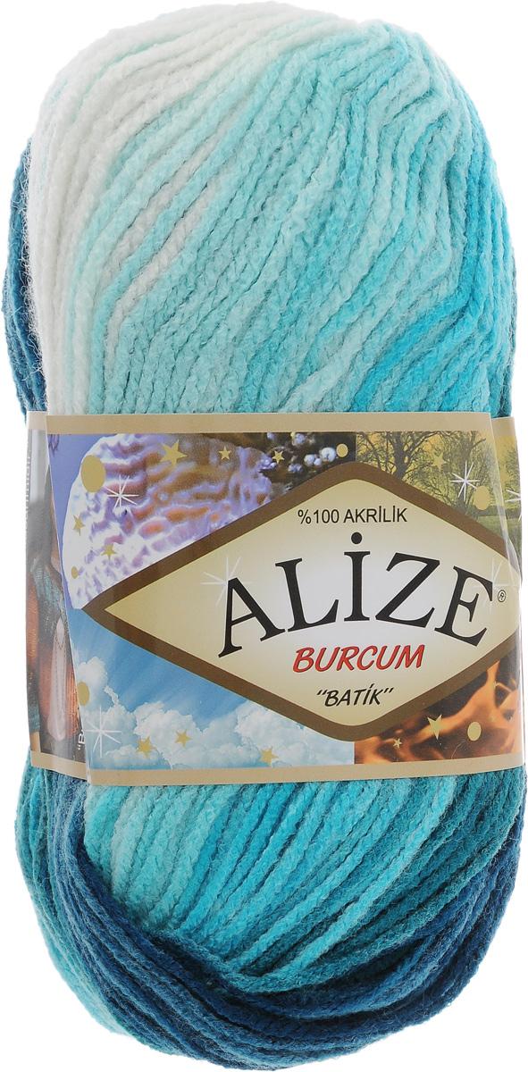 Пряжа для вязания Alize Burcum Batik, цвет: белый, голубой, бирюзовый (1892), 210 м, 100 г, 5 шт364118_1892Пряжа для вязания Alize Burcum Batik изготовлена из 100% акрила, что способствует прекрасному тепловому обмену, легкости и комфорту. Ниточка тонкая, пушистая. Из данной пряжи получаются вещи, которые не требуют ни украшений, ни дополнений. Пряжа допускает самую простую и примитивную вязку, но при этом смотрится необычно благодаря своей цветовой палитре. Пряжа отлично подходит для вязания свитеров, жилетов, шарфов, шапок, шалей и многого другого. Рекомендуемый размер спиц 4-6 мм.