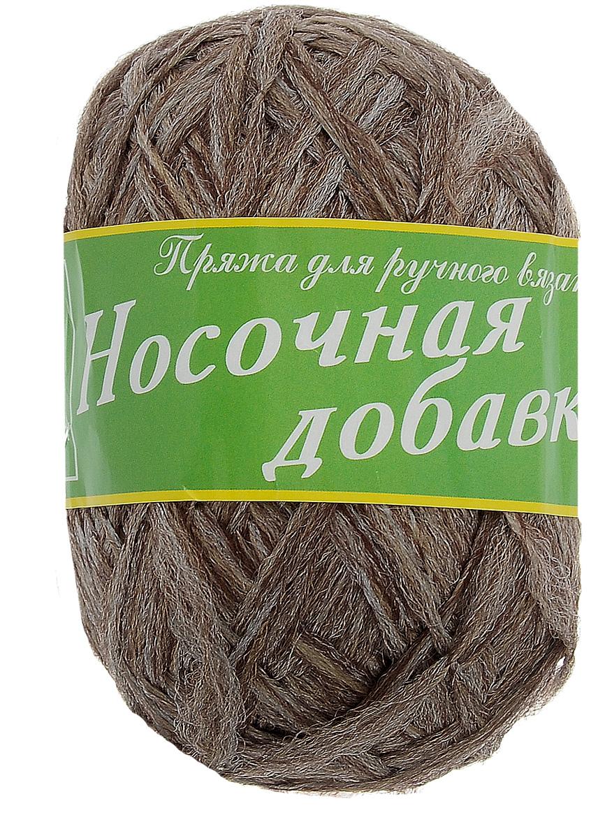 Пряжа для вязания Пехорка Носочная добавка, цвет: коричневый меланж (517), 200 м, 150 г, 10 шт680925_517_517 коричн.меланж/10Пряжа для вязания Пехорка Носочная добавка изготовлена из 100% полиэфира. Используется при вязании носков для того, чтобы укрепить пятку и след носка от преждевременного истирания. Рекомендуемый размер спиц 3,5 мм, крючка - 5 мм. Состав: 100% полиэфир. Комплектация: 10 шт. Толщина нити: 4 мм.