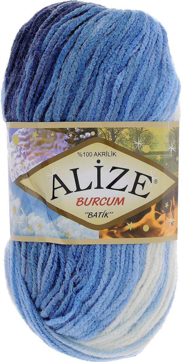 Пряжа для вязания Alize Burcum Batik, цвет: белый, голубой, синий (1899), 210 м, 100 г, 5 шт364118_1899Пряжа для вязания Alize Burcum Batik изготовлена из 100% акрила, что способствует прекрасному тепловому обмену, легкости и комфорту. Ниточка тонкая, пушистая. Из данной пряжи получаются вещи, которые не требуют ни украшений, ни дополнений. Пряжа допускает самую простую и примитивную вязку, но при этом смотрится необычно благодаря своей цветовой палитре. Пряжа отлично подходит для вязания свитеров, жилетов, шарфов, шапок, шалей и многого другого. Рекомендуемый размер спиц 4-6 мм.