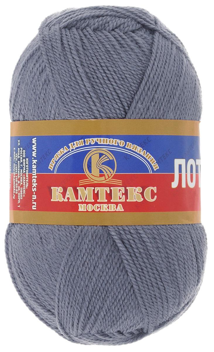 Пряжа для вязания Камтекс Лотос, цвет: серый (169), 300 м, 100 г, 10 шт136083_169Пряжа для вязания Камтекс Лотос изготовлена из 100% акрила. Пряжа имеет приятную мягкость, вяжется очень легко, совершенно не путаясь. По своим свойствам акриловая нить близка к шерсти. Только, в отличие от шерсти, она приятна для тела, совсем не колется, не раздражает кожу, подходит даже для детей. Существует вероятность, что изделие может слегка растянуться, но этого можно избежать деликатным обращением и плотной вязкой. Пряжа Лотос подходит для вязания и крючками, и спицами, хорошо получаются любые виды узоров. Идеальный вариант для вязания демисезонных головных уборов, жакетов, свитеров, болеро, детской одежды. Пряжа имеет приятный благородный блеск. Богатая цветовая палитра - смелые и насыщенные оттенки. Рекомендуемый размер крючка и спиц 3-5 мм. Состав: 100% акрил. Комплектация: 10 шт. Толщина нити: 1,5 мм.