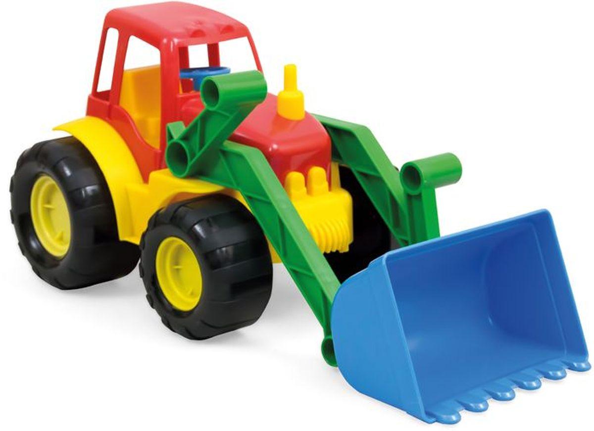 Zebratoys Zebratoys Трактор с ковшом ACTIVE15-5224Машинки серии ACTIVE отличаются эргономичностью и ударопрочностью. Трактор с ковшом станет отличным подарком для юного строителя, а подвижные детали игрушки позволят вашему ребенку погрузиться в процесс игры с головой.
