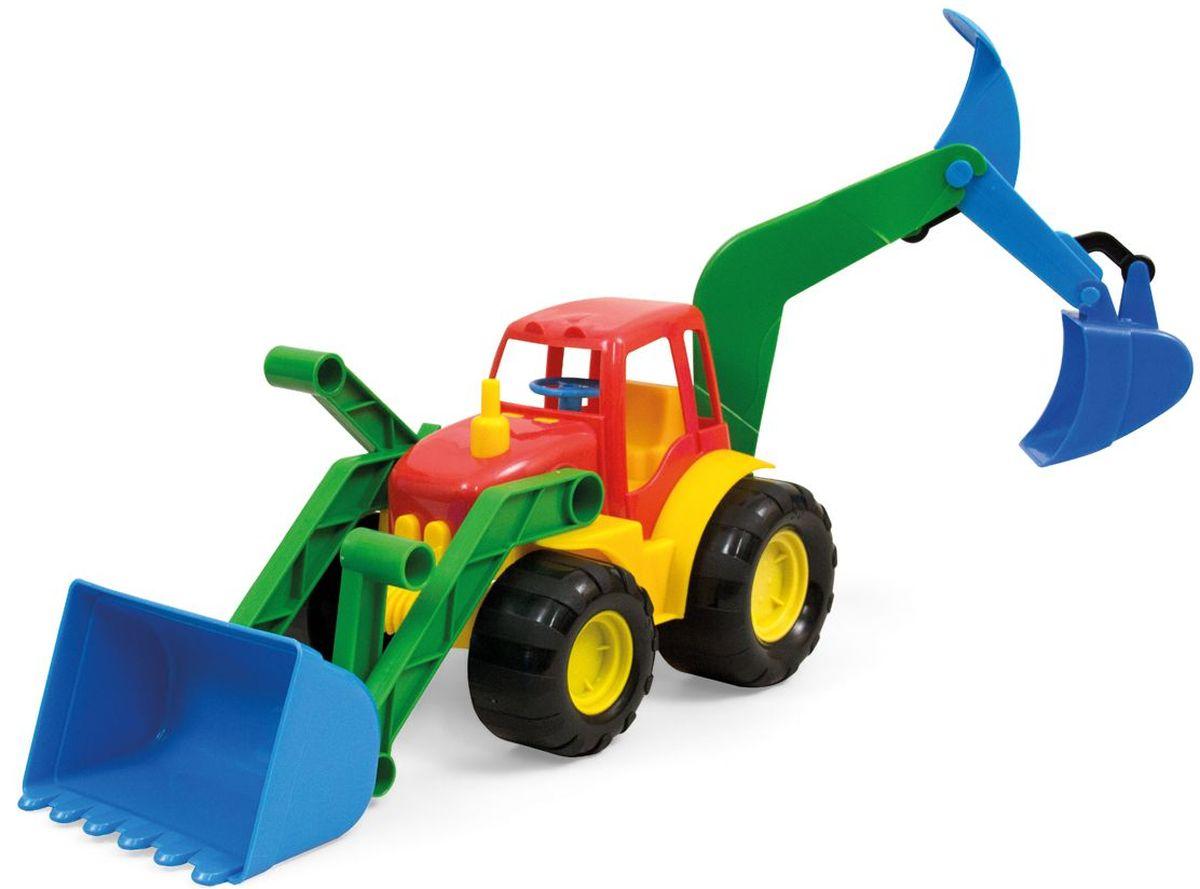 Zebratoys Экскаватор ACTIVEBDM71_DJJ55Машинки серии ACTIVE отличаются эргономичностью и ударопрочностью. Экскаватор станет отличным подарком для юного строителя, а подвижные детали игрушки позволят вашему ребенку погрузиться в процесс игры с головой.