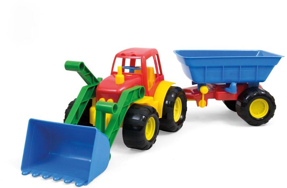 Zebratoys Zebratoys Трактор с ковшом и прицепом ACTIVE15-5212Машинки серии ACTIVE отличаются эргономичностью и ударопрочностью. Трактор с ковшом и прицепом станет отличным подарком для юного строителя, а подвижные детали игрушки позволят вашему ребенку погрузиться в процесс игры с головой.