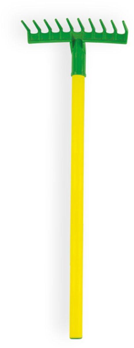 Zebratoys Грабли детские садовые15-10932Игрушечный садовый инвентарь можно использовать как в песочнице так и на дачных просторах, дети смогут наслаждаться игровым процессом и вовлекать в него взрослых, что несомненно сделает игру более увлекательной..
