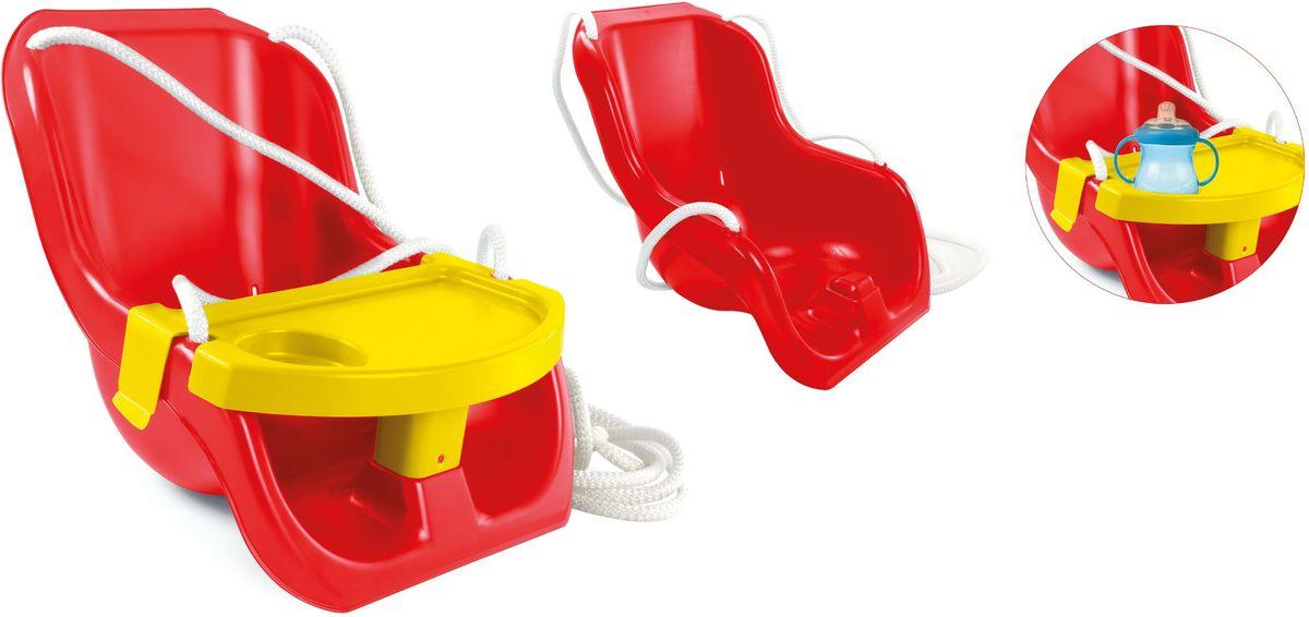 Zebratoys Качели со столиком15-10960Качели со столиком, это прекрасный подарок для вашего малыша. Эргономичное сидение позволит ему с комфортом сидеть, а столик с углублением для бутылочки позволит вашему ребенку совмещать катание и игру с любимой игрушкой.