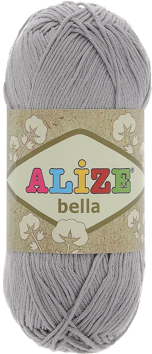 Пряжа для вязания Alize Bella, цвет: пепельно-серый (21), 180 м, 50 г, 5 шт364124_21Мягкая хлопковая пряжа Alize Bella просто идеальна для вязания вещей малышам и людям с чувствительной кожей. Нить не вызывает аллергии и очень приятна на ощупь. Изделия из такой нити получаются мягкие и красивые. Рекомендуемый размер спиц 2-4 мм и крючка 1-3 мм.