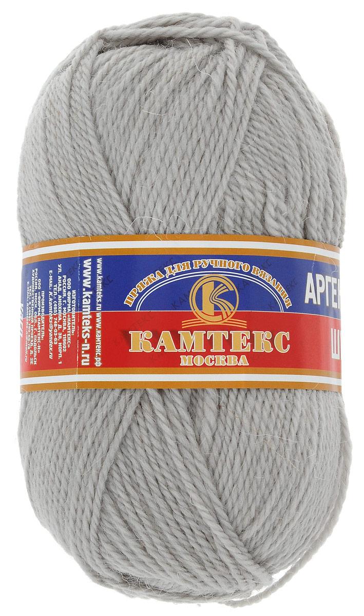 Пряжа для вязания Камтекс Аргентинская шерсть, цвет: светло-серый (106), 200 м, 100 г, 10 шт136071_106Пряжа для вязания Камтекс Аргентинская шерсть - это стопроцентная импортная шерсть, которая отличается прочностью и гладкостью. Даже при взгляде на моток, сразу видно, что вещи из этой пряжи будут выглядеть дорого. Изделия не скатываются и не деформируются. Пряжа очень легка в работе, даже при роспуске полотна, она не цепляется, и не путается. Ниточка безумно теплая и уютная, отлично подходит для нашей морозной зимы. Даже ажурные шапки и шарфы при всей своей тонкости будут самыми надежными защитниками от снега и сильного ветра. Очень хорошо смотрятся из этой шерсти узоры из кос и жгутов. Рекомендуются спицы и крючки для вязания 3-5 мм. Состав: 100% шерсть.