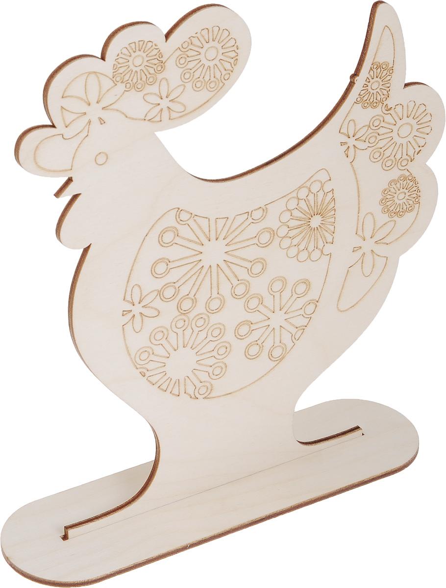 Заготовка деревянная Buratini Петух с цветочным ажуром, на подставке, 197 х 220 мм. DZ10014DZ10014Заготовка Buratini Петух с цветочным ажуром изготовлена из самого легкого материала для работы - фанеры. В ней прекрасно сочетаются пластичность форм, линий и художественная выразительность. Благодаря таким качествам заготовки, вы можете реализовать свои самые смелые творческие фантазии: оформить ее в технике декупаж, расписать красками, украсить мозаикой, пайетками, лентами или бисером.