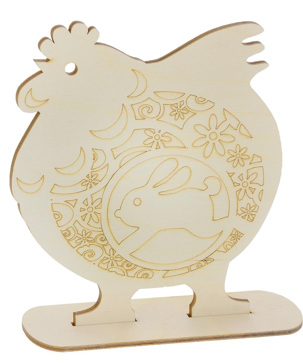Заготовка деревянная Buratini Петух с цветочным орнаментом, на подставке, 192 х 212 мм. DZ10001DZ10001Заготовка Buratini Петух с цветочным орнаментом изготовлена из самого легкого материала для работы - фанеры. В ней прекрасно сочетаются пластичность форм, линий и художественная выразительность. Благодаря таким качествам заготовки, вы можете реализовать свои самые смелые творческие фантазии: оформить ее в технике декупаж, расписать красками, украсить мозаикой, пайетками, лентами или бисером.