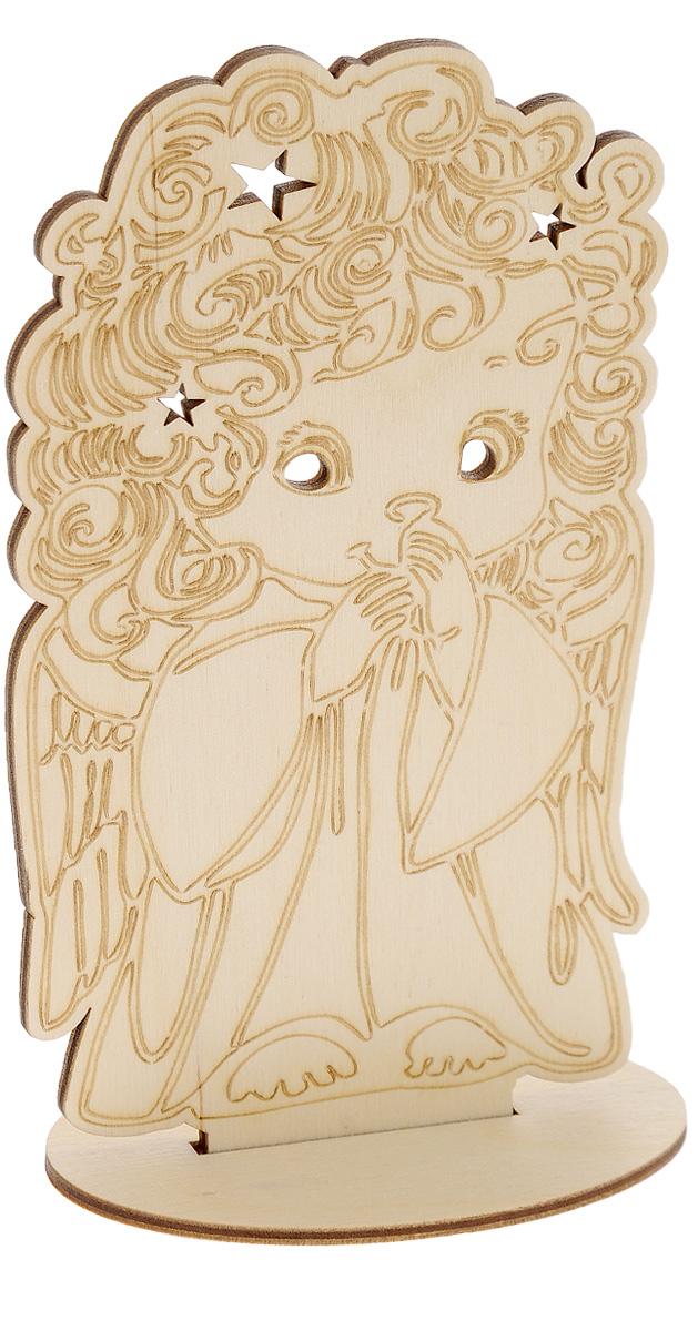 Заготовка деревянная Buratini Кудряшка, на подставке, 103 х 181 ммDZ10031Заготовка Buratini Кудряшка изготовлена из самого легкого материала для работы - фанеры. В ней прекрасно сочетаются пластичность форм, линий и художественная выразительность. Благодаря таким качествам заготовки, вы можете реализовать свои самые смелые творческие фантазии: оформить ее в технике декупаж, расписать красками, украсить мозаикой, пайетками, лентами или бисером.