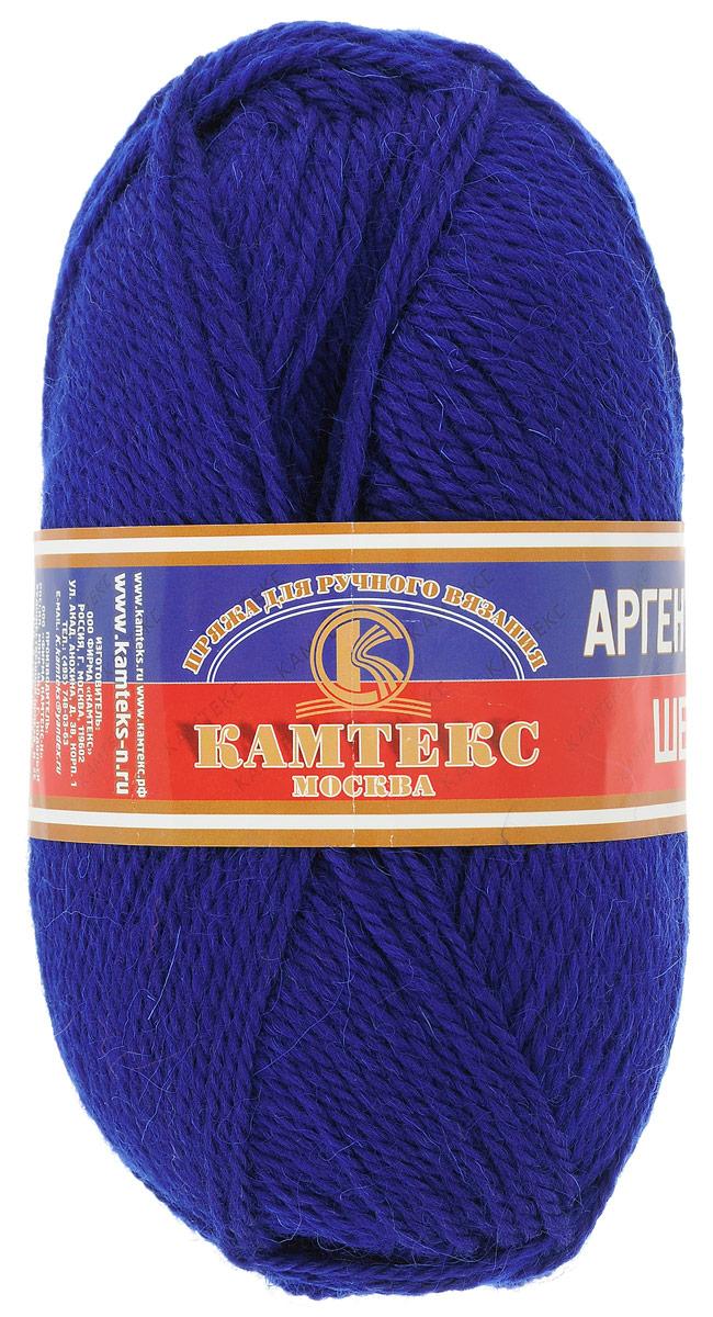 Пряжа для вязания Камтекс Аргентинская шерсть, цвет: василек (019), 200 м, 100 г, 10 шт136071_019Пряжа для вязания Камтекс Аргентинская шерсть - это стопроцентная импортная шерсть, которая отличается прочностью и гладкостью. Даже при взгляде на моток, сразу видно, что вещи из этой пряжи будут выглядеть дорого. Изделия не скатываются и не деформируются. Пряжа очень легка в работе, даже при роспуске полотна, она не цепляется, и не путается. Ниточка безумно теплая и уютная, отлично подходит для нашей морозной зимы. Даже ажурные шапки и шарфы при всей своей тонкости будут самыми надежными защитниками от снега и сильного ветра. Очень хорошо смотрятся из этой шерсти узоры из кос и жгутов. Рекомендуются спицы и крючки для вязания 3-5 мм. Состав: 100% шерсть.