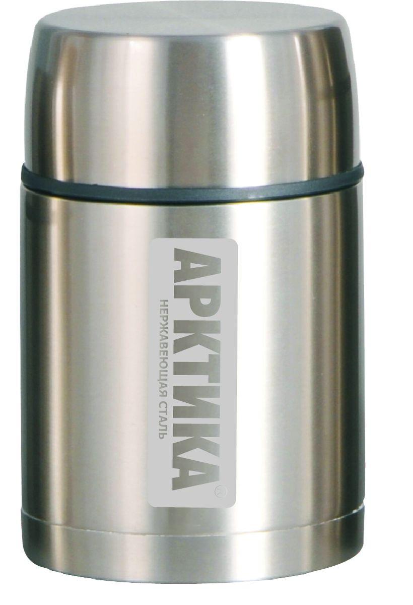 Термос Арктика, с чашкой, цвет: металлик, 1 л305-1000Термос Арктика с широким горлом сохранит вашу еду горячей и вкусной в течении долгого времени. Корпус выполнен из высококачественной нержавеющей стали. Крышку можно использовать в качестве стакана, так же есть дополнительная чашка. Он составит компанию за обеденным столом, улучшит настроение и поднимет аппетит, где бы этот стол не находился. Пусть даже в глухом отсыревшем лесу, где даже развести костер будет стоить немалого труда. Забудьте об этих неудобствах - вместительный и притом компактный термос Арктика с радостью послужит вам в качестве миниатюрной полевой кухни, поднимет настроение нарядным внешним видом и вкусной домашней едой. Диаметр горлышка: 8 см. Диаметр основания: 10,7 см. Высота (с учетом крышки): 19,5 см. Время сохранения температуры (холодной и горячей): 16 часов.