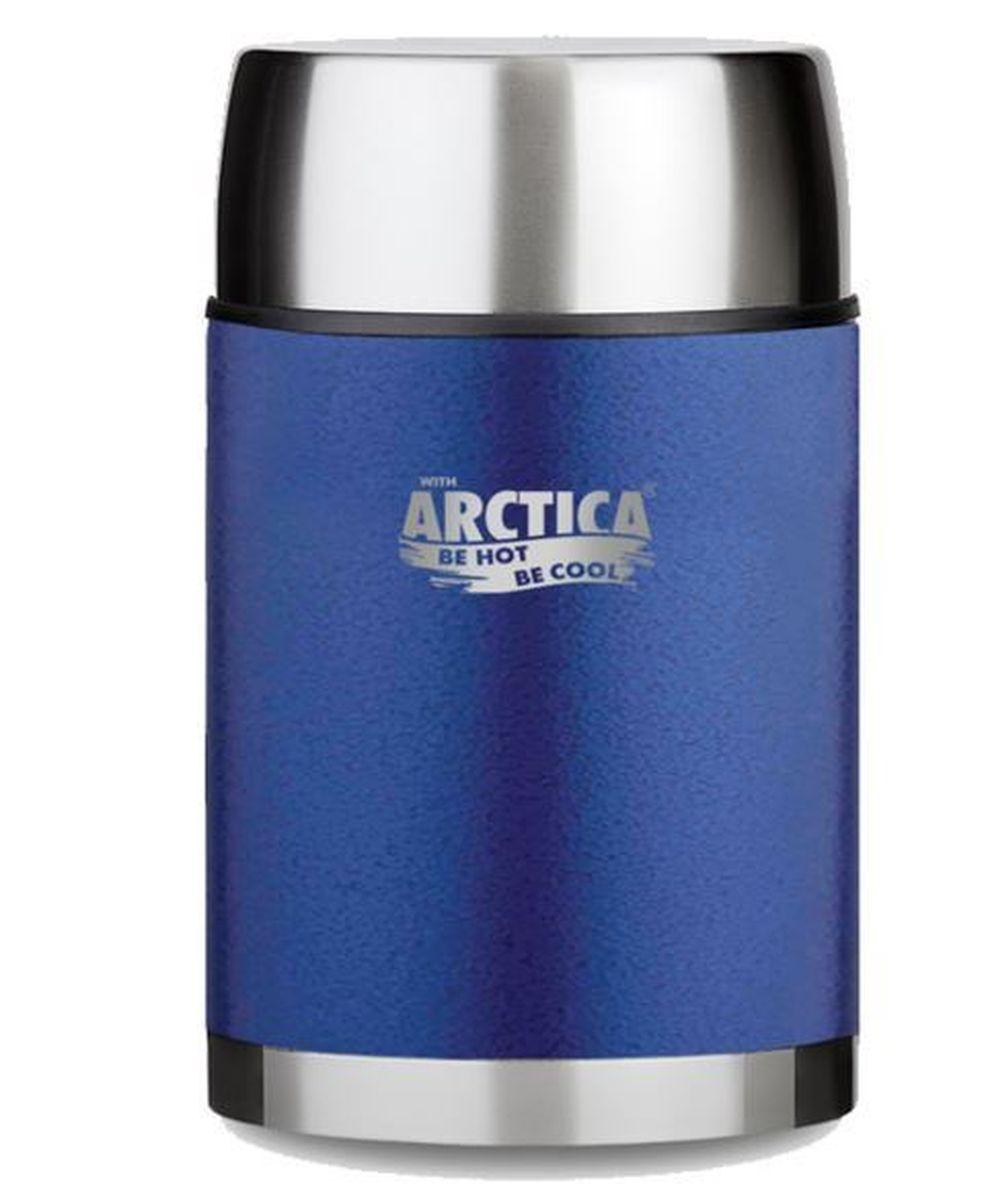 Термос Арктика, с чашкой, цвет: синий, 1 л306-1000Термос Арктика с широким горлом сохранит вашу еду горячей и вкусной в течении долгого времени. Корпус выполнен из высококачественной нержавеющей стали. Крышку можно использовать в качестве стакана, так же есть дополнительная чашка. Он составит компанию за обеденным столом, улучшит настроение и поднимет аппетит, где бы этот стол не находился. Пусть даже в глухом отсыревшем лесу, где даже развести костер будет стоить немалого труда. Забудьте об этих неудобствах - вместительный и притом компактный термос Арктика с радостью послужит вам в качестве миниатюрной полевой кухни, поднимет настроение нарядным внешним видом и вкусной домашней едой. Диаметр горлышка: 8 см. Диаметр основания: 10,7 см. Высота (с учетом крышки): 19,5 см. Время сохранения температуры (холодной и горячей): 16 часов.
