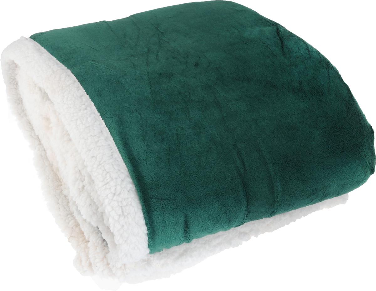 Плед Arya Микро микро, цвет: белый, темно-зеленый, 160 х 220 смF0009963Плед Arya Микро микро - это идеальное решение для вашего интерьера. Он порадует вас легкостью, нежностью и оригинальным дизайном. Плед выполнен из 100% микрофибры. Микрофибра считается одной из самых популярных тканей. Это материал синтетического происхождения из полиэфирных волокон. Изделия из микрофибры не мнутся и легко стираются. После стирки очень быстро высыхают. Плед - это такой подарок, который будет всегда актуален, особенно для ваших родных и близких, ведь вы дарите им частичку своего тепла. Продукция торговой марки Arya Микро микро сделана с особой заботой, специально для вас и уюта в вашем доме.