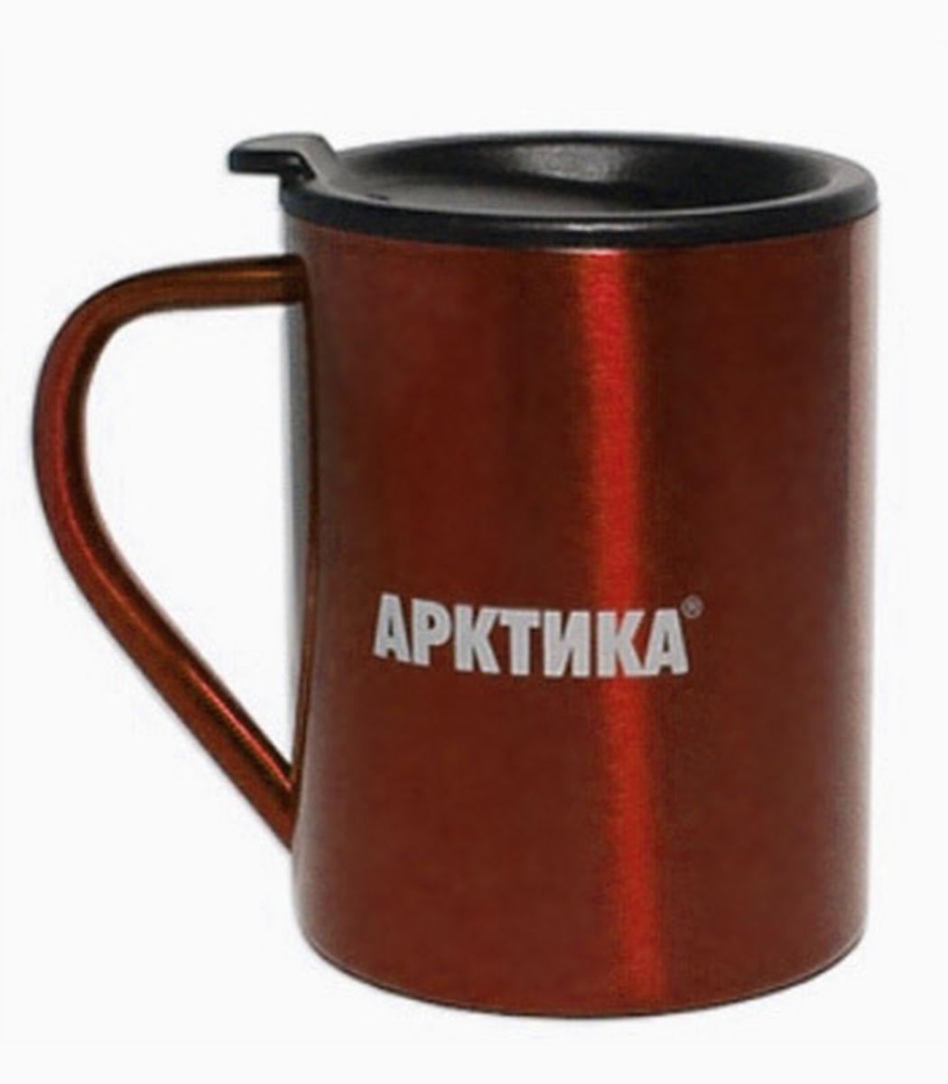 Термокружка Арктика, цвет: кофейный, 0,3 л802-300 кофейнаяТермокружка Арктика – универсальна, она одинаково хороша и при использовании дома, если Вы любите растягивать удовольствие от напитка и Вам не нравится, что он так быстро остывает, и на даче, где такая посуда особенно впору в силу своей прочности, долговечности и практичности – ею приятно пользоваться, ведь она не обжигает руки, ее легко мыть, можно не бояться уронить термокружку Арктика, нержавеющая сталь равнодушно выдержит любые удары судьбы. Крышка с отверстием, поставляемая в комплекте плотно фиксируется на термокружке. Помимо той очевидной выгоды, что напиток не будет разливаться, Вы можете быть уверены, что в жаркий летний день любопытные насекомые не смогут позариться на содержимоетермокружки. Русская компания Арктика выпускает термопосуду для российского рынка – Вы не платите за растаможку товара и огромные транспортные наценки, поэтому цена натермокружки Арктика более чем адекватна, что не может не радовать