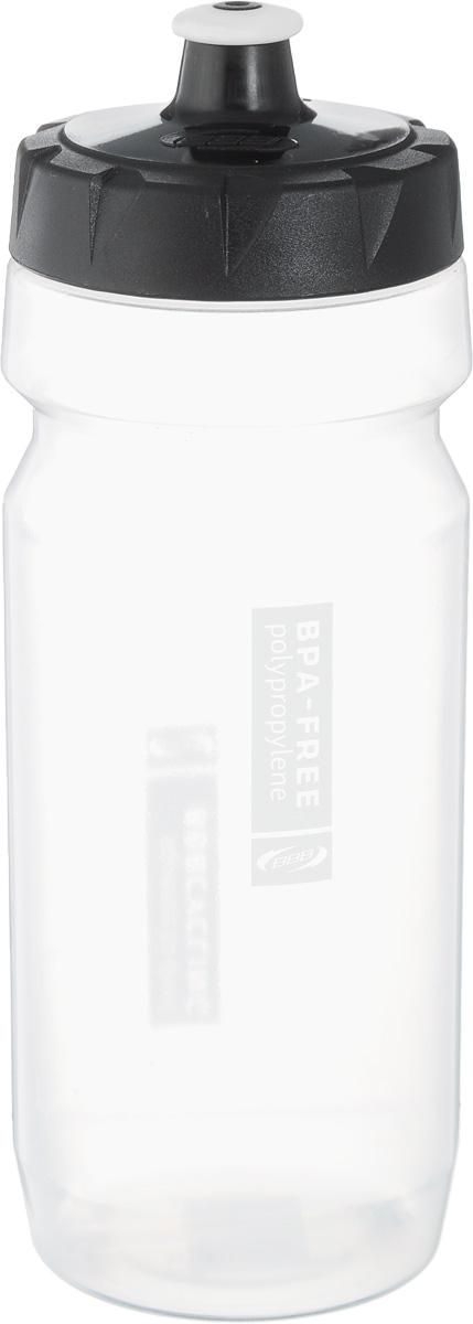 Бутылка для воды BBB, велосипедная, 550 млBWB-01Бутылка для воды BBB изготовлена из высококачественного прозрачного полипропилена, безопасного для здоровья. Закручивающаяся крышка с герметичным клапаном для питья обеспечивает защиту от проливания. Оптимальный объем бутылки позволяет взять небольшую порцию напитка. Она легко помещается в сумке или рюкзаке и всегда будет под рукой. Такая идеальная бутылка небольшого размера, но отличной вместимости наполняет оптимизмом, даря заряд позитива и хорошего настроения. Бутылка для воды BBB - отличное решение для прогулки, пикника, автомобильной поездки, занятий спортом и фитнесом. Высота бутылки (с учетом крышки): 21 см. Диаметр по верхнему краю: 5,5 см. Диаметр основания: 6,5 см.