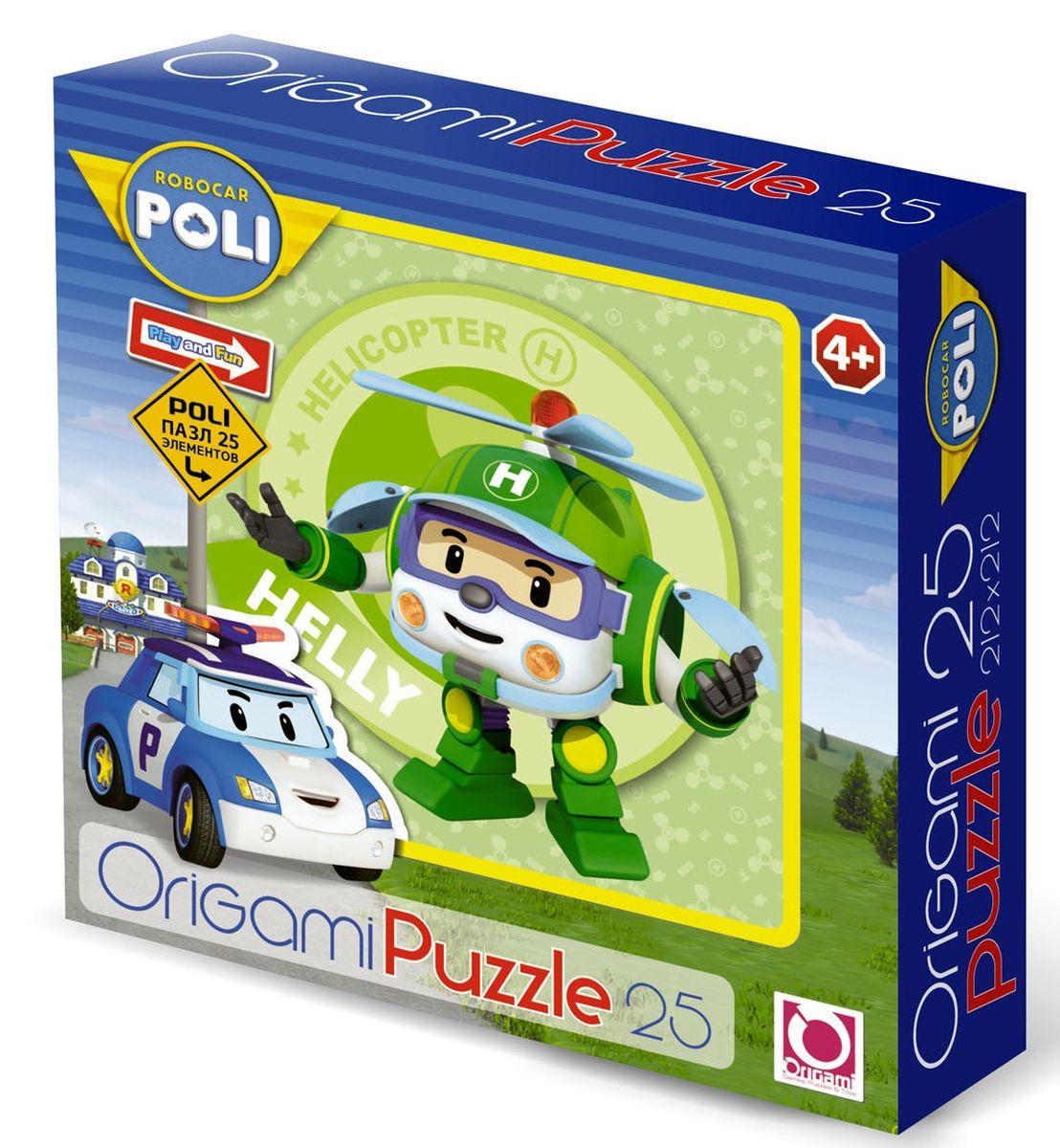 Оригами Пазл Robocar 25А 0016300163Пазл Робокар на 25 деталей. Пазл за пазлом ребёнок будет узнавать о весёлых приключениях машинок-трансформеров, в игровой форме ребёнок научится правилам дорожного движения. Составление пазла станет развивающим досугом для малыша и подарит хорошее настроение. Размер пазла 22х22. Рекомендуемый возраст 3+.