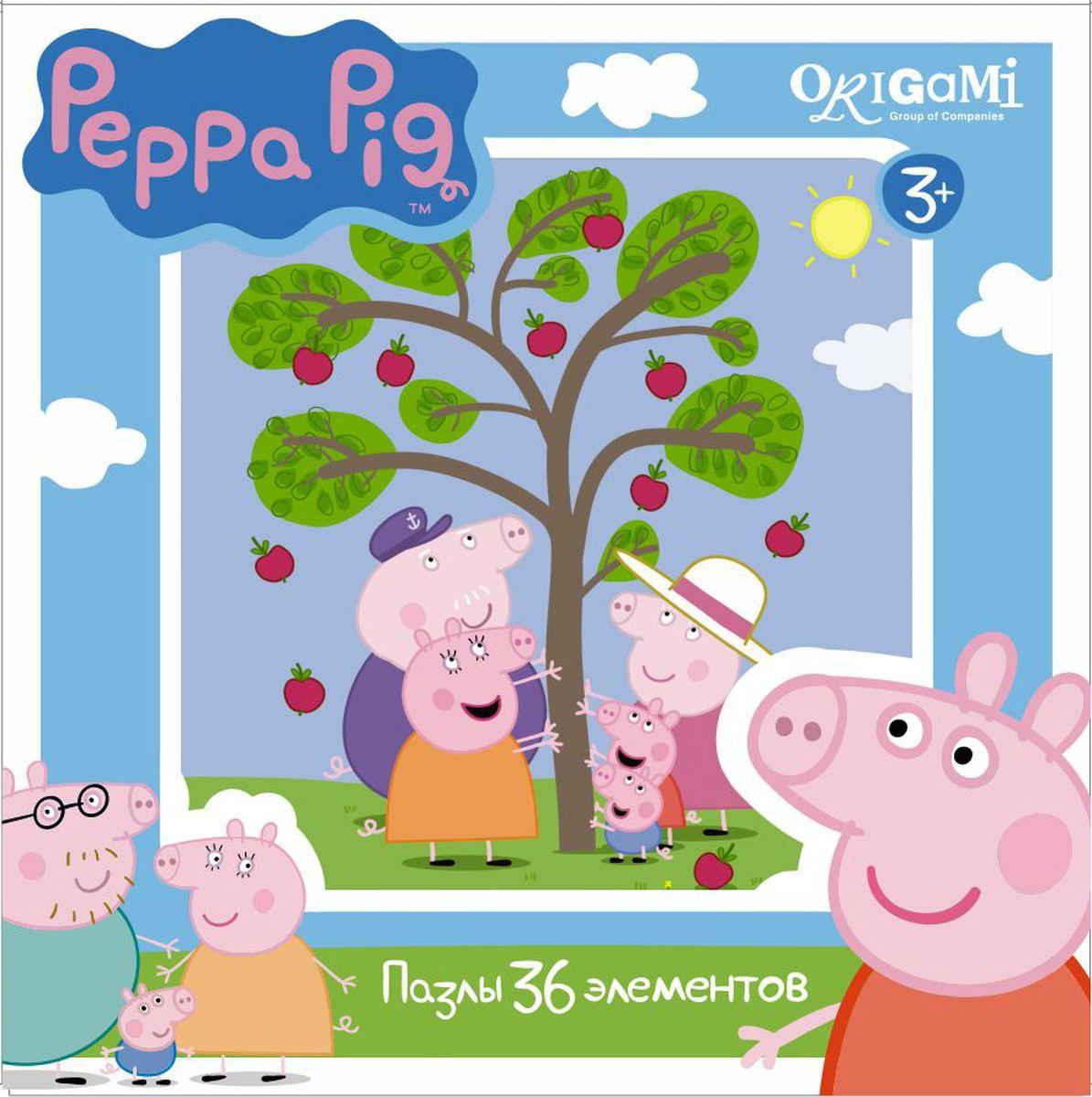 Оригами Пазл Peppa Pig 36A 0155001550Пазл Peppa Pig на 36 деталей. Пазл за пазлом ребёнок будет узнавать о весёлых приключениях Свинки Пеппы. Составление пазла станет развивающим досугом для малыша, т.к. тренирует пространственное мышление, моторику рук, а так же подарит хорошее настроение.