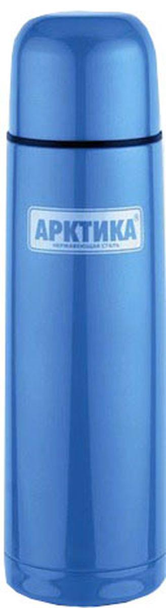Термос Арктика, цвет: синий, 0,75 л термосы