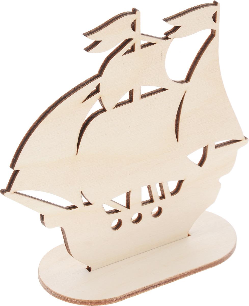 Заготовка деревянная Buratini Парусник, 130 х 130 ммDZ00016Заготовка Buratini Парусник изготовлена из самого легкого материала для работы - фанеры. В ней прекрасно сочетаются пластичность форм, линий и художественная выразительность. Благодаря таким качествам заготовки, вы можете реализовать свои самые смелые творческие фантазии: оформить ее в технике декупаж, расписать красками, украсить мозаикой, пайетками, лентами или бисером.