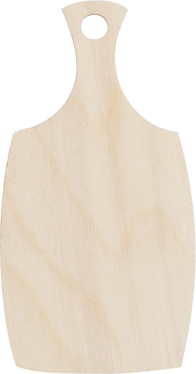 Заготовка деревянная Buratini Разделочная доска, 80 х 150 ммDZ00007Заготовка Buratini Разделочная доска изготовлена из самого легкого материала для работы - фанеры. В ней прекрасно сочетаются пластичность форм, линий и художественная выразительность. Благодаря таким качествам заготовки, вы можете реализовать свои самые смелые творческие фантазии: оформить ее в технике декупаж, расписать красками, украсить мозаикой, пайетками, лентами или бисером.