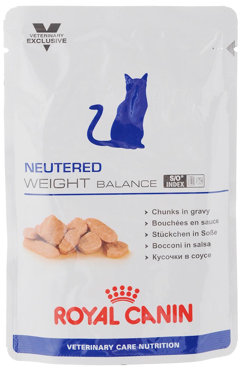 Консервы Royal Canin Neutered Weight Balance для кастрированных котов и стерилизованных кошек, склонных к ожирению, 100 г44716Консервы Royal Canin Neutered Weight Balance предназначены для кастрированных/стерилизованных котов и кошек с момента операции до 7 лет, склонных к избыточному весу. Особенности: - Умеренное содержание энергии Пониженное содержание энергии в корме ограничивает набор избыточного веса у кастрированных/стерилизованных котов и кошек, склонных к ожирению. - Комплекс антиоксидантов Комплекс антиоксидантов синергичного действия (витамин Е, витамин С, таурин, лютеин) нейтрализует воздействие свободных радикалов. - S/O Index Знак S/O Index на упаковке означает, что диета предназначена для создания в мочевыделительной системе среды, неблагоприятной для образования струвитных кристаллов и кристаллов оксалата кальция. Состав: свинина и мясо птицы, куриная печень, пшеничная мука, целлюлоза, минеральные вещества, пшеничная клейковина, желирующее вещество, таурин, гидролизат дрожжей (источник маннановых олигосахаридов), экстракт...