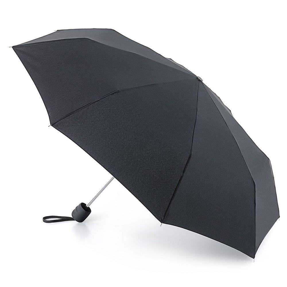 Зонт мужской механика Fulton, расцветка: черный. G560-01 BlackG560-01 BlackОдин из самых компактных зонтов Стальной супер-прочный каркас Ветроустойчивая конструкция Большой купол Удобная обрезиненная ручка Длина в сложенном виде 33,5 см, диаметр купола 90 см