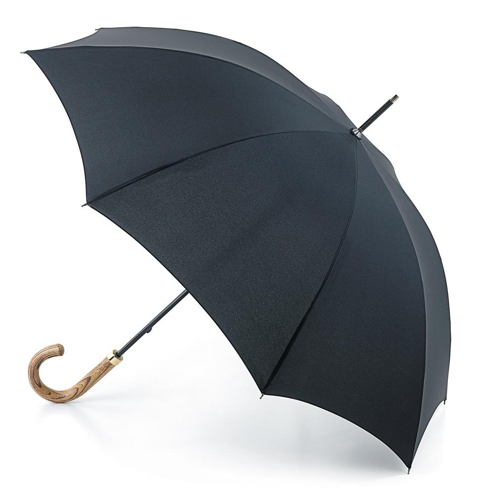 Зонт мужской трость Fulton, расцветка: черный. G807-01 Black