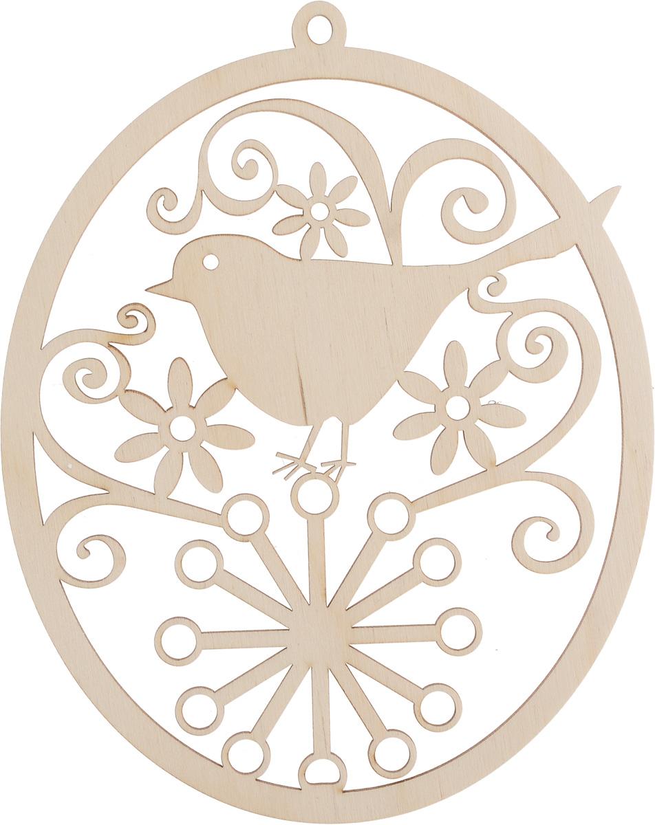 Заготовка деревянная Buratini Подвеска. Соловей, 150 х 189 ммDZ50001Заготовка Buratini Подвеска. Соловей изготовлена из самого легкого материала для работы - фанеры. В ней прекрасно сочетаются пластичность форм, линий и художественная выразительность. Благодаря таким качествам заготовки, вы можете реализовать свои самые смелые творческие фантазии: оформить ее в технике декупаж, расписать красками, украсить мозаикой, пайетками, лентами или бисером.