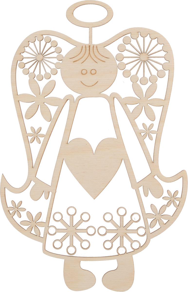 Заготовка деревянная Buratini Сердечный ангел, на подставке, 128 х 206 мм. DZ50014DZ50014Заготовка Buratini Сердечный ангел изготовлена из самого легкого материала для работы - фанеры. В ней прекрасно сочетаются пластичность форм, линий и художественная выразительность. Благодаря таким качествам заготовки, вы можете реализовать свои самые смелые творческие фантазии: оформить ее в технике декупаж, расписать красками, украсить мозаикой, пайетками, лентами или бисером.