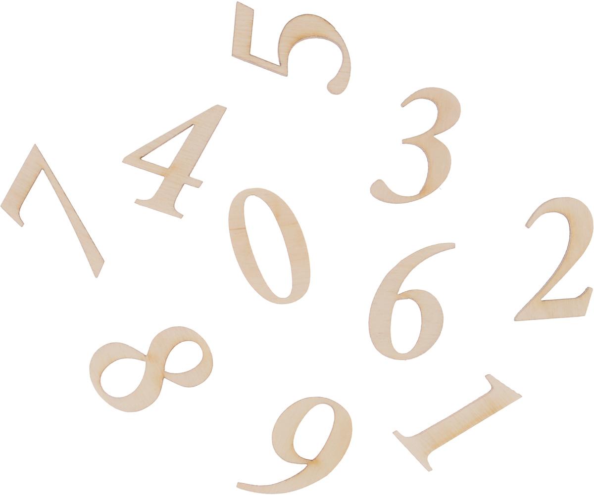 Набор деревянных заготовок Астра Цифры, 10 шт686322Набор заготовок Астра Цифры изготовлен из самого легкого материала для работы - фанеры. В нем прекрасно сочетается пластичность форм, линий и художественная выразительность. Благодаря таким качествам заготовок, вы можете реализовать свои самые смелые творческие фантазии: оформить их в технике декупаж, расписать красками, украсить мозаикой, пайетками, лентами или бисером. Средний размер заготовки: 3 х 1,5 см.