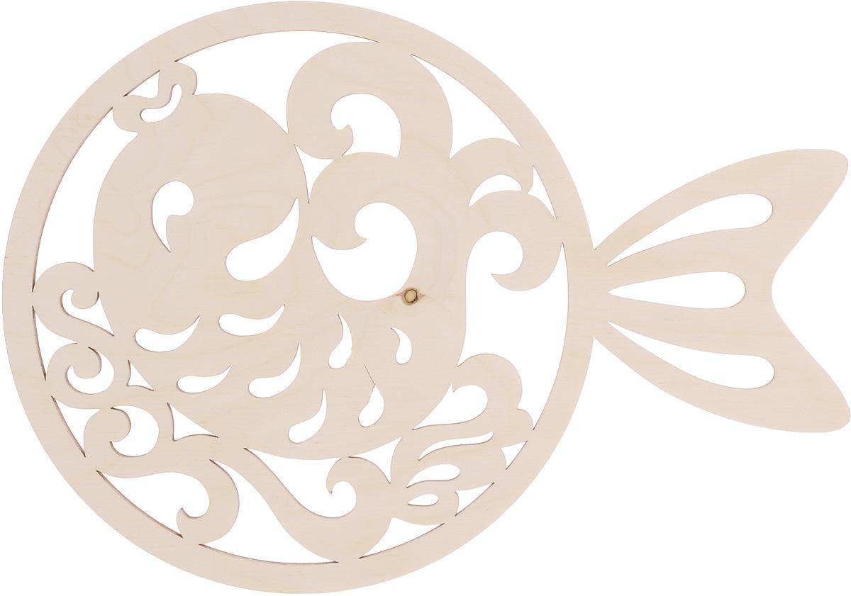 Деревянная заготовка Астра Рыбка, 28,5 x 20 см554001Заготовка Астра Рыбка, изготовленная из дерева, станет хорошей основой для вашего творчества. Заготовку можно украсить бисером, блестками, тесьмой, кружевом - возможности не ограничены. Творческий процесс развивает воображение, учит видеть сказку в обыденных вещах, ведь для нее всегда есть место в нашей жизни! Заготовка Астра Рыбка станет идеальным украшением интерьера вашего дома и отличным подарком для вас и ваших близких.