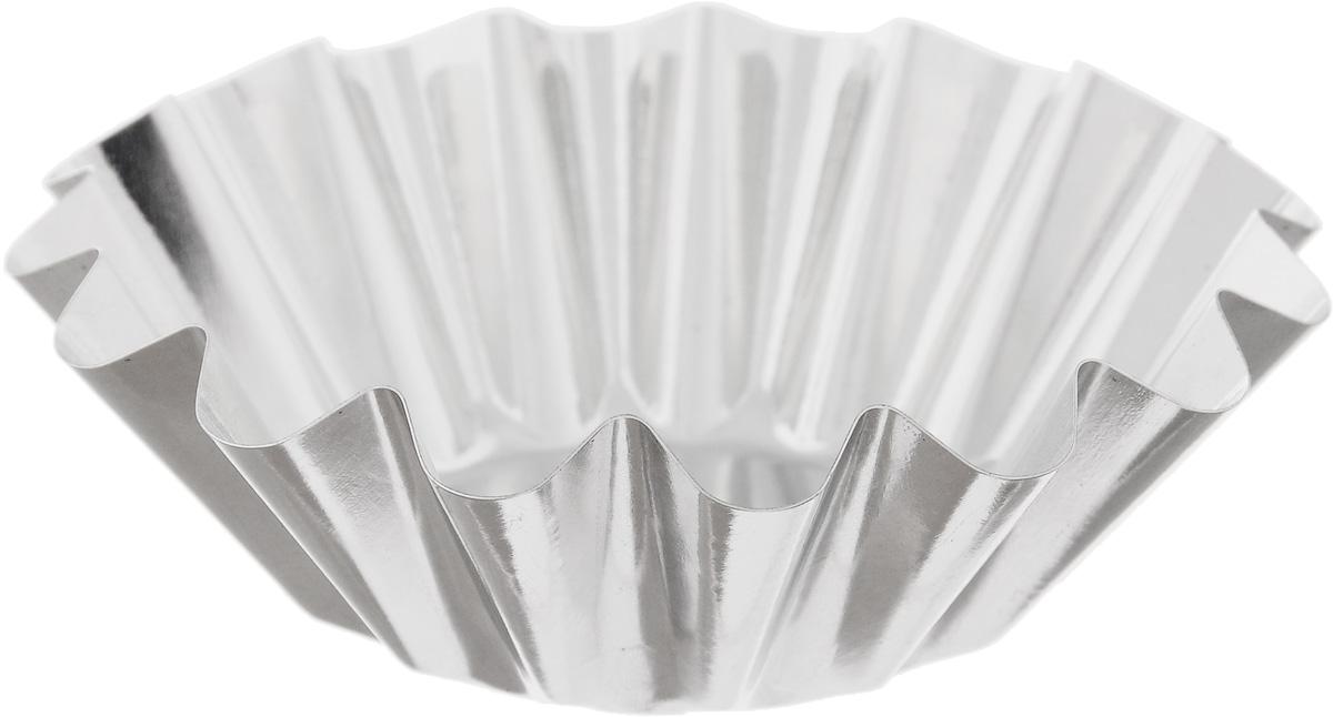 Форма для выпечки Кварц, диаметр 9,5 смКФ-03.000Форма Кварц, выполненная из белой жести, предназначена для выпечки и приготовления желе. Стенки изделия рельефные. С формой Кварц вы всегда сможете порадовать своих близких оригинальной выпечкой. Диаметр формы (по верхнему краю): 9,5 см. Высота формы: 3 см.