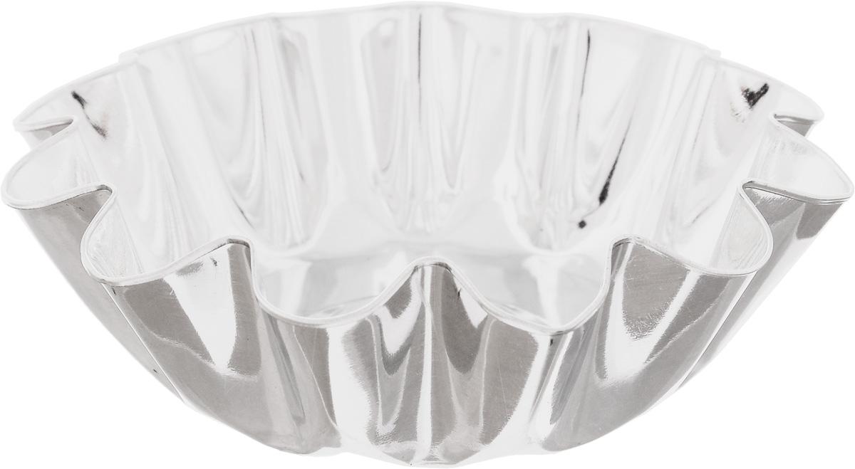 Форма для выпечки Кварц, диаметр 11,4 смКФ-06.000Форма Кварц, выполненная из белой жести, предназначена для выпечки и приготовления желе. Стенки изделия рельефные. С формой Кварц вы всегда сможете порадовать своих близких оригинальной выпечкой. Диаметр формы (по верхнему краю): 11,4 см. Высота формы: 3,6 см.