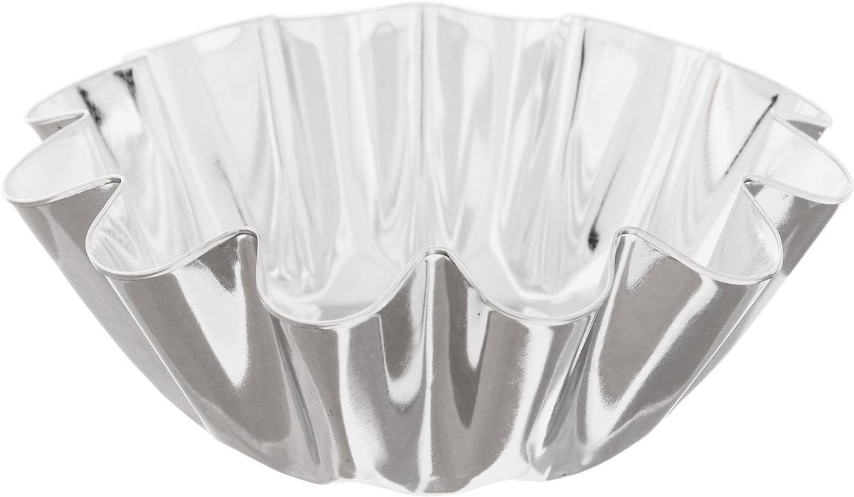 Форма для выпечки Кварц, диаметр 12,4 смКФ-07.000Форма Кварц, выполненная из белой жести, предназначена для выпечки и приготовления желе. Стенки изделия рельефные. С формой Кварц вы всегда сможете порадовать своих близких оригинальной выпечкой. Диаметр формы (по верхнему краю): 12,4 см. Высота формы: 4,6 см.