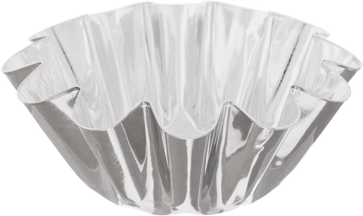 Форма для выпечки Кварц, диаметр 13 смКФ-08.000Форма Кварц, выполненная из белой жести, предназначена для выпечки и приготовления желе. Стенки изделия рельефные. С формой Кварц вы всегда сможете порадовать своих близких оригинальной выпечкой. Диаметр формы (по верхнему краю): 13 см. Высота формы: 5,4 см.