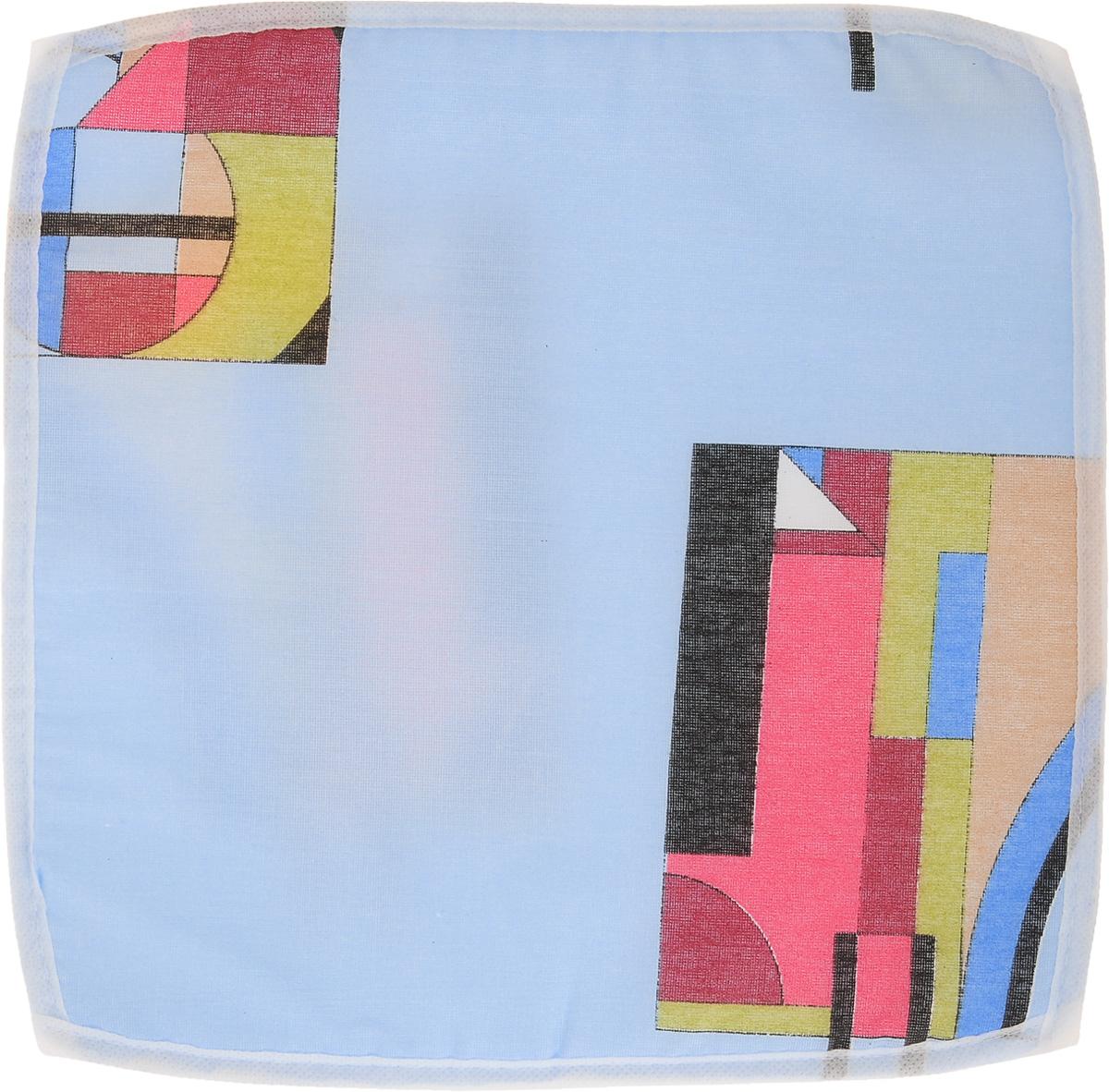 Подушка на стул Eva Геометрия, 34 х 34 смЕ06_голубой, геометрияПодушка на стул Eva Геометрия, выполненная из хлопка с наполнителем из поролона, легко крепится на стул с помощью завязок. Рекомендации по уходу: Деликатная стирка при температуре воды до 30°С. Отбеливание, барабанная сушка, химчистка запрещены. Рекомендуется глажка при температуре подошвы утюга до 150°С. Размер подушки: 34 х 34 х 1 см.