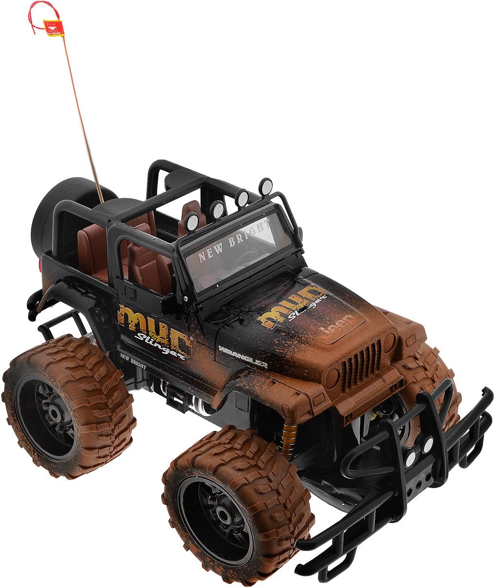 New Bright Радиоуправляемая модель Jeep Wrangler цвет коричневый черный масштаб 1:1031079/61088RКультовый американский автомобиль Jeep Wrangler привлечет внимание как ребенка, так и взрослого. Маневренная и реалистичная уменьшенная копия New Bright Jeep Wrangler выполнена в точной детализации с настоящим автомобилем в масштабе 1:10. Управление машиной происходит с помощью пульта. Пульт управления работает на частоте 27 MHz. Jeep двигается вперед и назад, поворачивает направо и налево. Колеса игрушки прорезинены и обеспечивают плавный ход, машинка не портит напольное покрытие. Радиоуправляемые игрушки способствуют развитию координации движений, моторики и ловкости. Ваш ребенок часами будет играть с моделью, придумывая различные истории и устраивая соревнования. Порадуйте его таким замечательным подарком! Машина работает от сменного аккумулятора (входит в комплект). Зарядка осуществляется при помощи зарядного устройства (входит в комплект). Для работы пульта управления необходимы 2 батарейки типа АА (входят в комплект).
