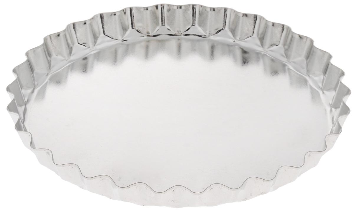 Форма для выпечки Кварц, диаметр 20,5 смКФ-16.000Форма Кварц, выполненная из белой жести, предназначена для выпечки и приготовления желе. Стенки изделия рельефные. С формой Кварц вы всегда сможете порадовать своих близких оригинальной выпечкой. Размер формы (по верхнему краю): 20,5 х 20,5 см. Высота формы: 2 см.