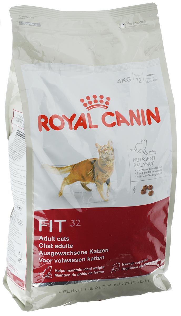 Корм сухой Royal Canin Fit 32 для кошек, имеющих доступ на улицу, 4 кг00637Корм сухой Royal Canin Fit 32 для кошек, живущих в помещении, но время от времени бывающих на улице. Рацион таких кошек должен содержать все необходимые питательные вещества для поддержания хорошей физической формы. Необходимо учитывать предрасположенность этих кошек к набору избыточного веса, так как при долгом пребывании в помещении потребление калорий может превышать энергетические затраты. Они часто вылизывают свою шерсть, следовательно, возрастает риск образования волосяных комочков в желудке кошки. Активное выведение волосяных комочков благодаря действию неферментируемой клетчатки и свекольного жома, стимулирующих кишечный транзит у кошек. Royal Canin Fit 32 - сбалансированный продукт, который состоит из 52 питательных веществ. Этот корм прекрасно удовлетворяет потребности кошек в белках, жирных кислотах, пищевых волокнах, витаминах и минералах, и помогает сохранить отличную физическую форму кошки. Поддержание идеального веса кошки...