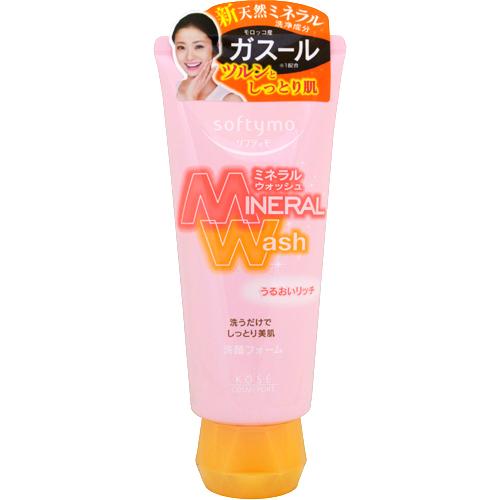 Кose Увлажняющая пенка для умывания с цветочным ароматом, Softymo Mineral Wash 130 г380026Минеральная пенка для нормальной и сухой кожи. Содержит марокканскую глину гассуль - для дополнительного увлажнения. Эффективно удаляет загрязнения и остатки макияжа. Образует густую пену, легко удаляющую остатки жира и загрязнения пор. Содержит 12 видов минералов, жемчужную пудру, глубинную воду, экстракт устриц, экстракт мидий (гликоген из мидий), термальную воду, экстракт ламинарии японской, экстракт фукуса, экстракт бурой и зеленой водоросли, экстракт маточного молочка пчел, экстракт черного сахара, глицерин. Без красителей. Способ применения: выдавите необходимое количество средства и нанесите на влажное лицо. Вспеньте, нежно массируя, уделяя особое внимание проблемным зонам. Смойте теплой водой. Меры предосторожности: В случае попадания средства в глаза, немедленно промойте водой. Храните в месте недоступном для детей. Плотно закрывайте крышку после использования. Частички глины гассуль могут скатываться и приобретать желтоватый оттенок, что является естественным процессом...