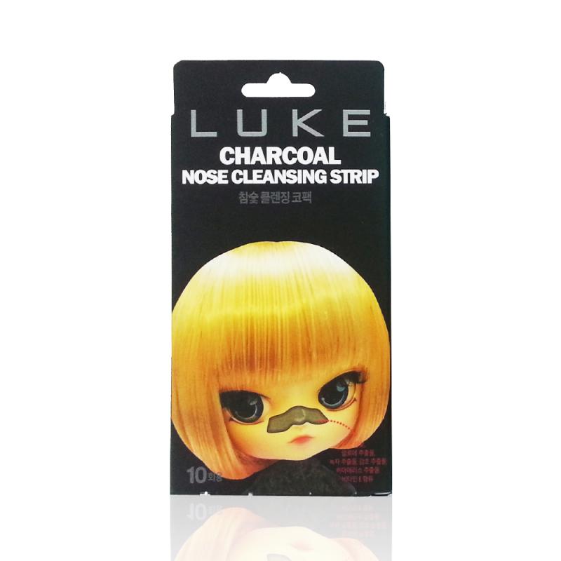 Luke Очищающие угольные полоски от черных точек Charcoal Nose Cleansing Strip 10 шт929533Полоски предназначены для быстрого очищения пор и устранения «черных точек». Полоски с легкостью очистят любые поры и окажут антисептическое и антибактериальное действие. В состав полосок входит активированный уголь, экстракт алоэ, витамин Е и экстракт гаммамелиса, которые успокаивают кожу и способствуют сужению пор. Использование полосок надежно защитит кожу от появления черных точек и надолго избавит кожу носа от расширенных пор. Способ применения:Предварительно на очищенную кожу носа, нанесите пластырь. Оставьте на 10-20 минут, затем осторожно удалите полоску.