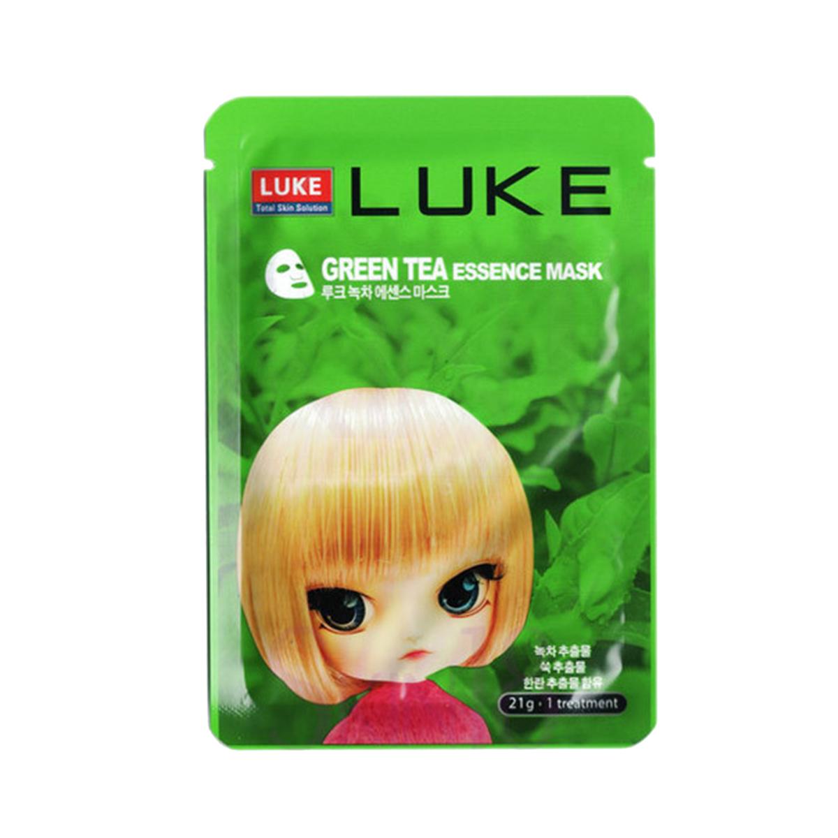 Luke Маска с экстрактом зеленого чая Green Tea Essence Mask 21 г929786Освежи свою кожу маской с экстрактом зеленого чая, которая увлажняет и делает кожу гладкой. Способ применения: на очищенную кожу лица, нанести маску и оставить на 20-30 минут. Затем снять маску, а остатки геля легкими движениями распределить на лицо. Меры предосторожности: Хранить в недоступном для детей месте. Избегать контакта с глазами. Срок годности после вскрытия 1 день.
