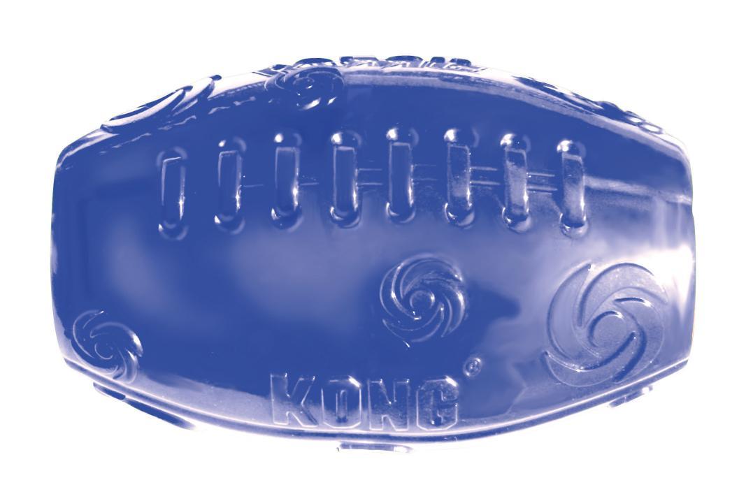 Игрушка для собак Kong Сквиз Мячик регби, средний, 5 х 10 смPSF2EИгрушка для собак изготовлена из очень прочной и безопасной резины. Пищалка у игрушки KONG Squeezz встроена глубоко внутри, поэтому она более безопасна, чем другие пищалки и издает самые забавные звуки. Прекрасно подходит для игр с апортом, способность к непредсказуемым отскокам и пищалка гарантируют целую гамму веселья вам и вашей собаке.