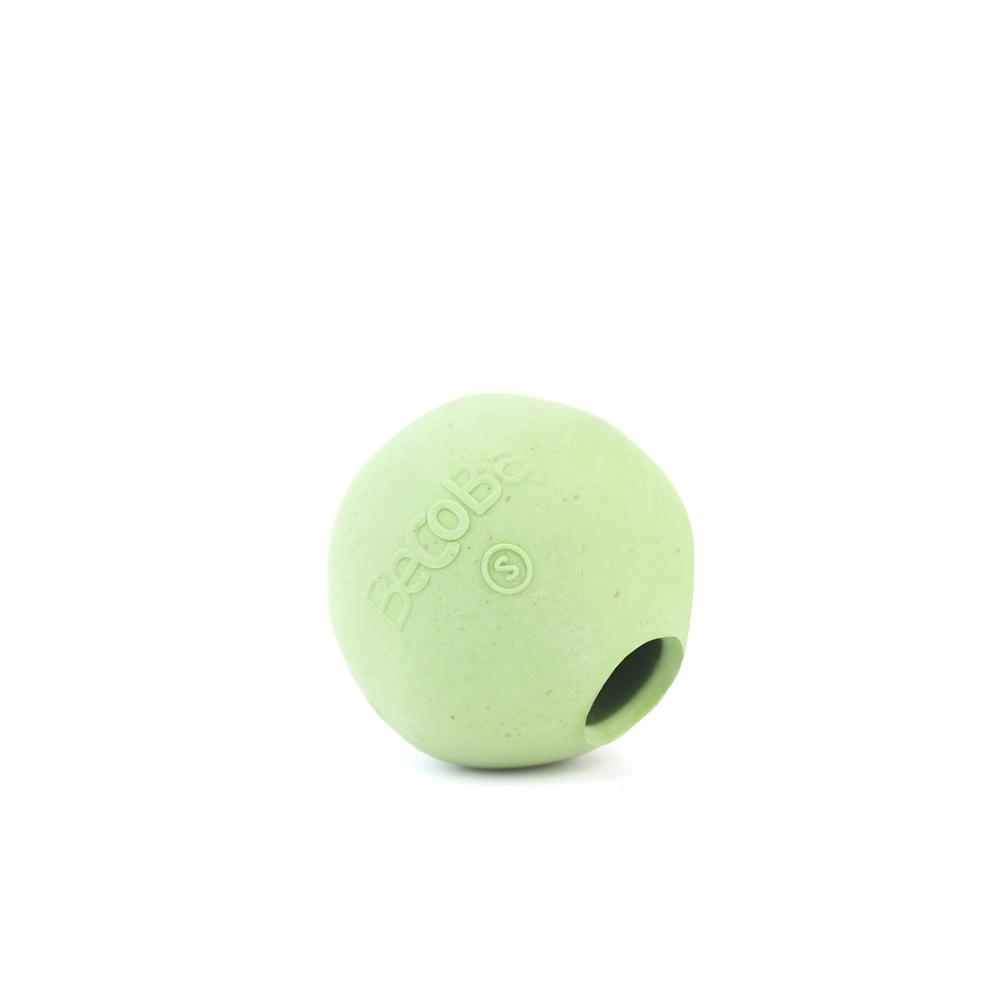 Игрушка для собак BecoThings Мяч, цвет: зеленый, 5 см4015_bИгрушки изготовлены из нового революционного экоматериала, состоящего из шелухи риса и каучука. Игрушки нетоксичные, экологически чистые и абсолютно безопасные игрушки для собак