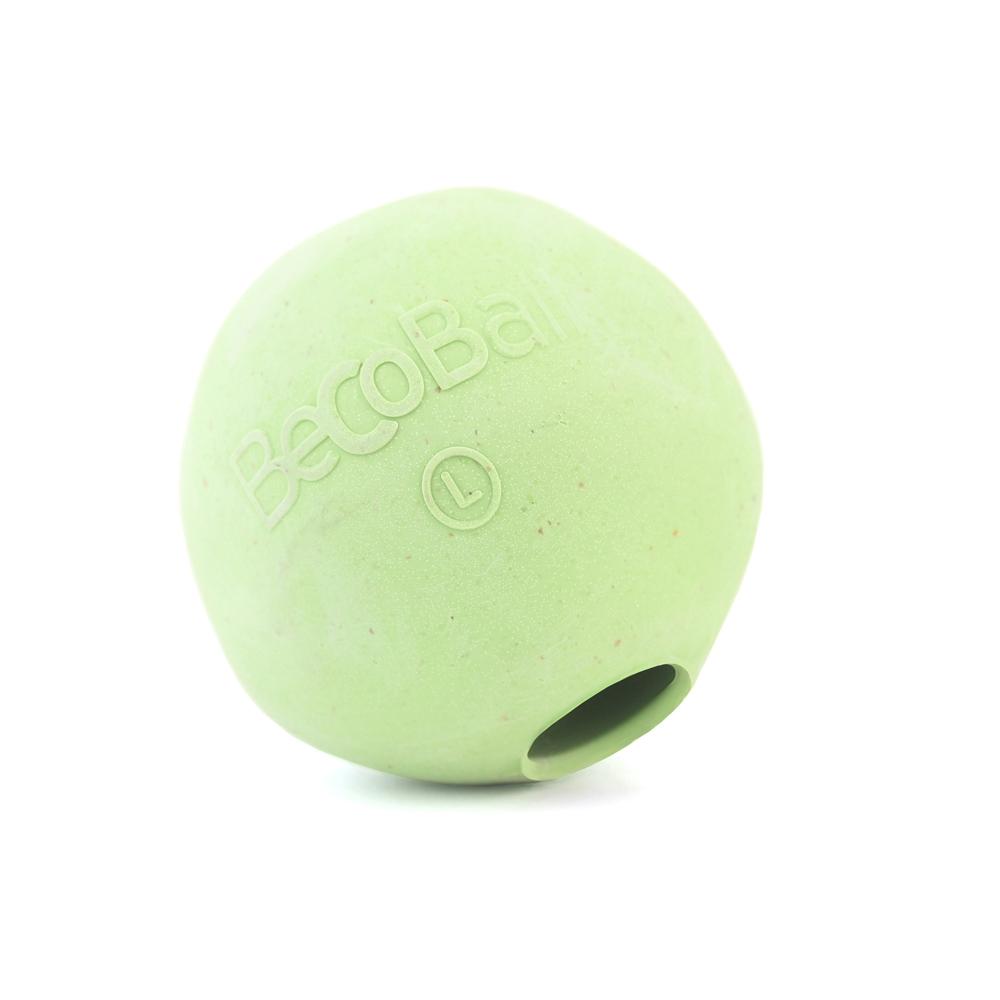 Игрушка для собак BecoThings Мяч, цвет: зеленый, 7 см4017_bИгрушка для собак BecoThings Мяч была тщательно разработана. Мяч изготовлен из натурального каучука и волокон рисовой шелухи. Игрушка для собак BecoThings Мяч нетоксична, поэтому, если ваш питомец случайно проглотит кусок мяча, то изделие не причинит никакого ущерба. Благодаря неправильной форме шара, мяч прыгает непредсказуемо, тем самым увлекая собаку в игру. Диаметр игрушки: 7 см. Материал: рисовая шелуха, каучук.