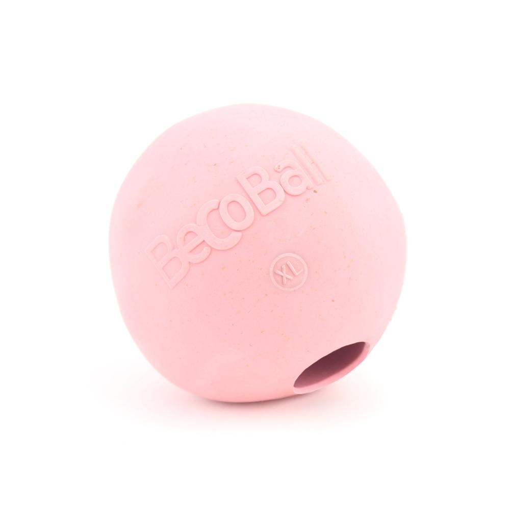 Игрушка для собак BecoThings Мяч, цвет: розовый, 8,5 см4018_aИгрушка для собак BecoThings Мяч была тщательно разработана. Мяч изготовлен из натурального каучука и волокон рисовой шелухи. Игрушка для собак BecoThings Мяч нетоксична, поэтому, если ваш питомец случайно проглотит кусок мяча, то изделие не причинит никакого ущерба. Благодаря неправильной форме шара, мяч прыгает непредсказуемо, тем самым увлекая собаку в игру. Диаметр игрушки: 8,5 см. Материал: рисовая шелуха, каучук.