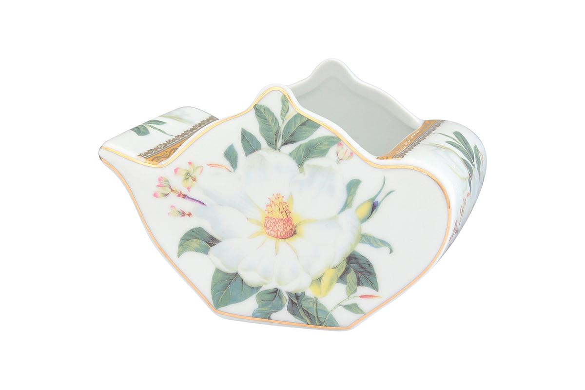 Подставка сервировочная для чайных пакетиков Elan Gallery Чайник. Белый шиповник, 12 х 9 х 8 см503993Сервировочная подставка для чайных пакетиков Elan Gallery Чайник. Белый шиповник, изготовленная из высококачественной керамики, порадует вас оригинальностью и дизайном. Изделие декорировано цветочными узорами и имеет изысканный внешний вид. Такая подставка, несомненно, понравится любой хозяйке и украсит интерьер любой кухни!